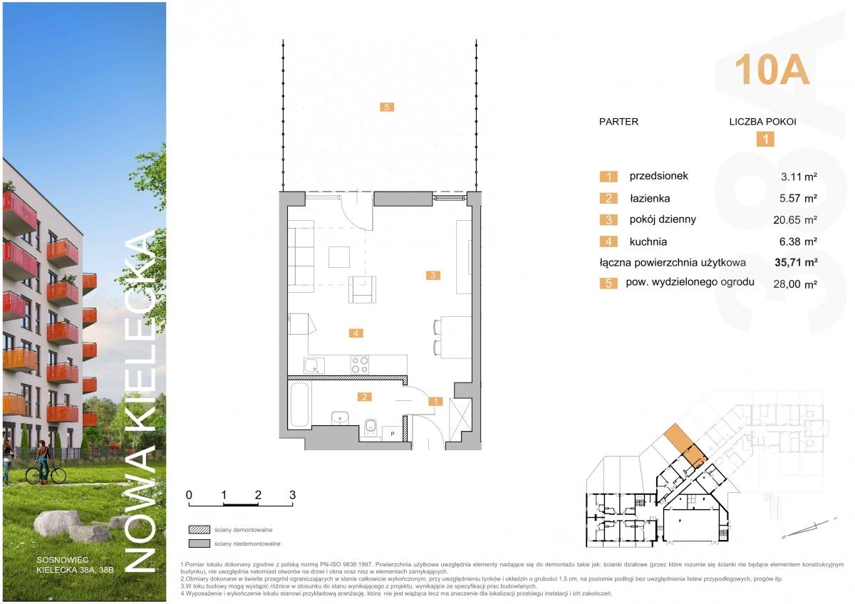 Mieszkanie 10A - 36,79 m2